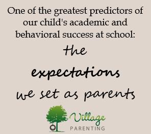 parental expectations